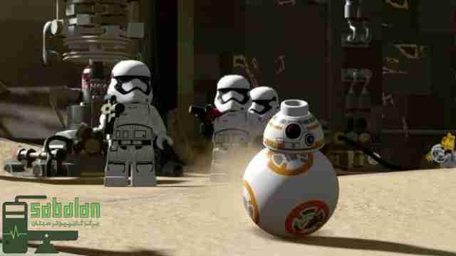 بازی – LEGO STAR WARS – شرکت پرنیان