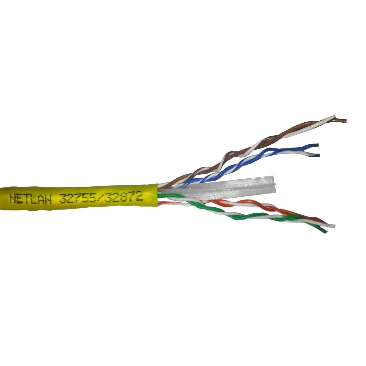 کابل شبکه  CAT6 UTP CU