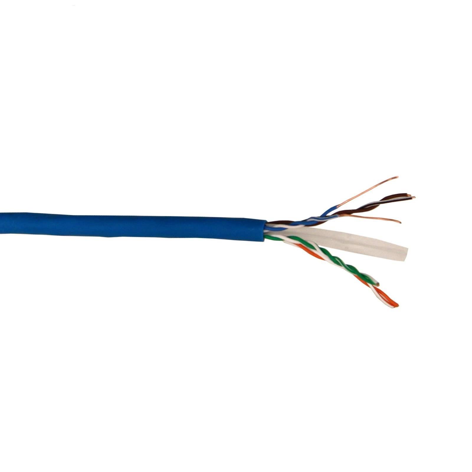کابل شبکه  مدل Cat 6 UTP CU