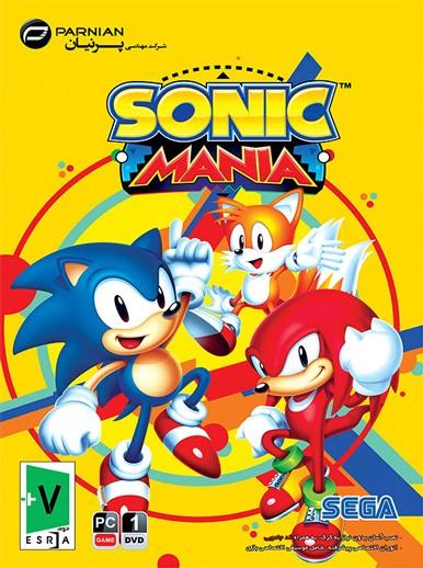 بازی کامپیوتری Sonic Mania شرکت پرنیان